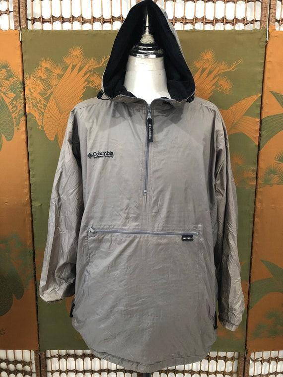 Vintage Columbia Sportswear quarter zip hooded (co