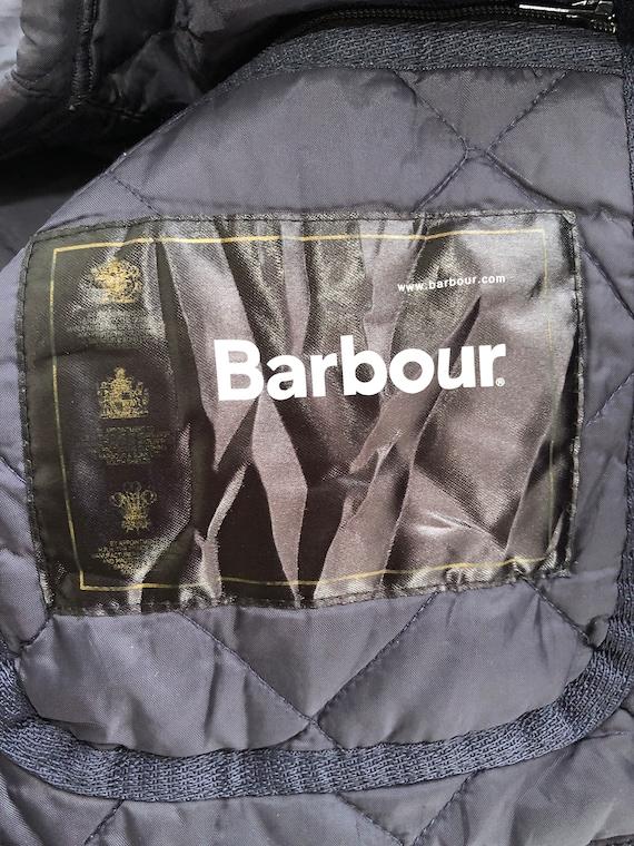 Vintage Barbour Puffer jacket japanese style (cod… - image 7