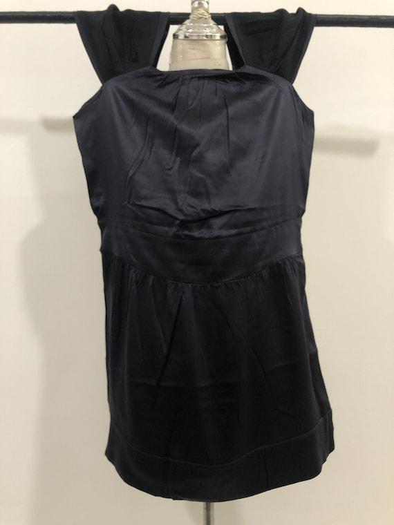 Vintage Miu Miu Evening Dress 100% silk Made in I… - image 6