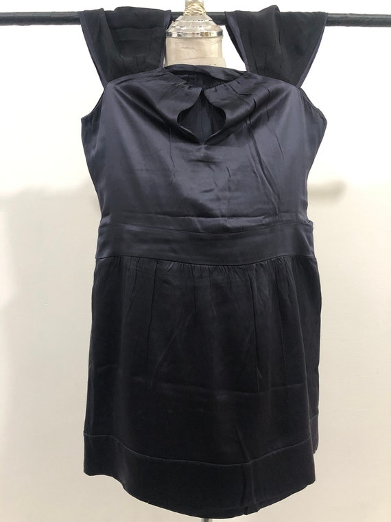 Vintage Miu Miu Evening Dress 100% silk Made in I… - image 9