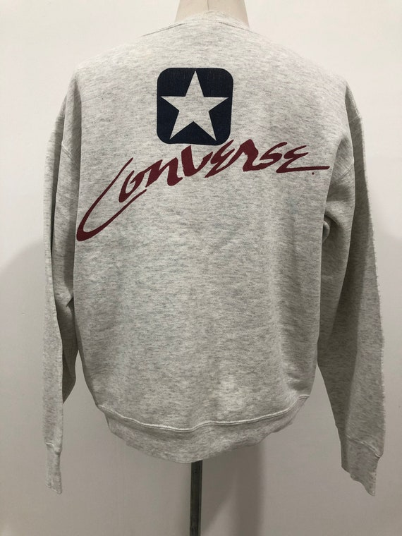 Vintage 80s Converse Big Printed Logo made in USA
