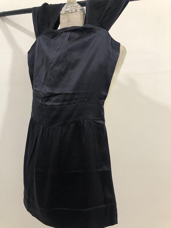 Vintage Miu Miu Evening Dress 100% silk Made in I… - image 8