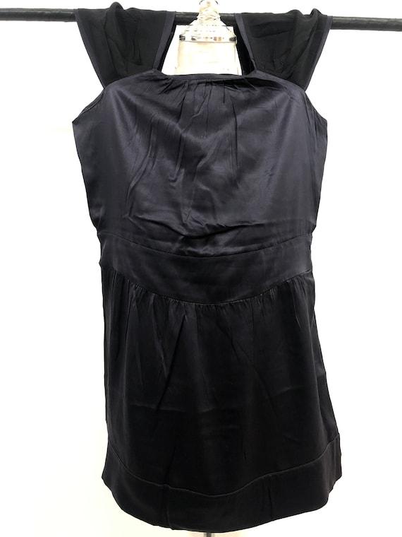 Vintage Miu Miu Evening Dress 100% silk Made in I… - image 4