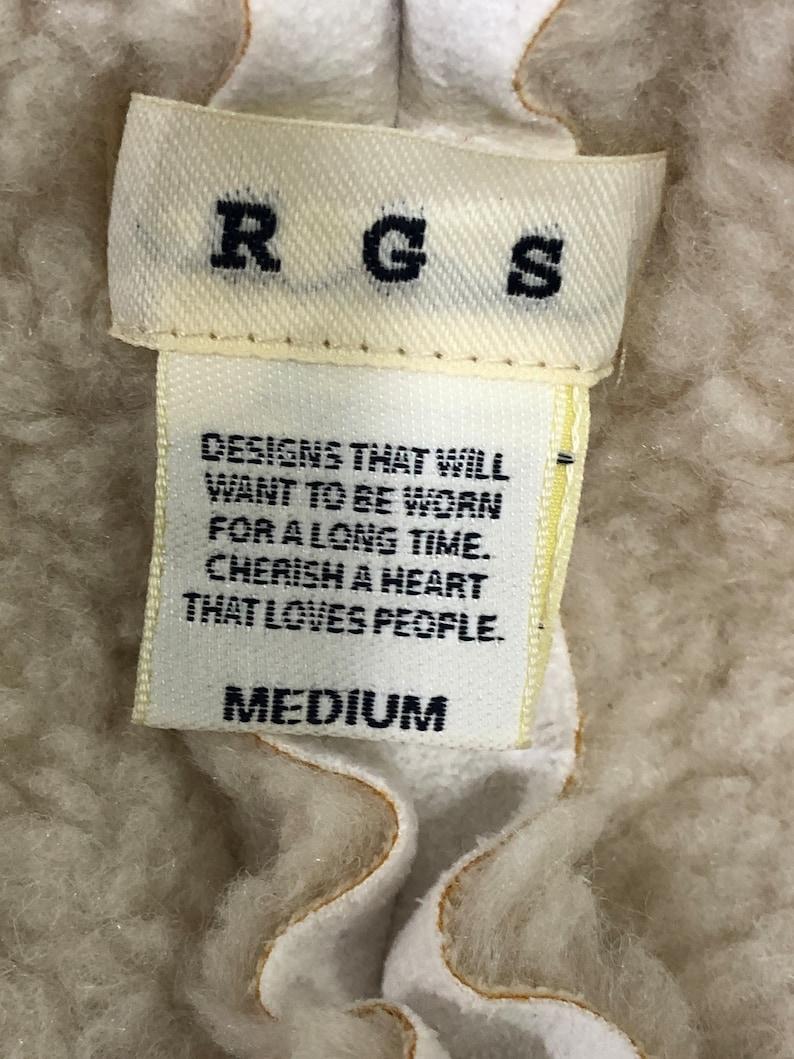 code:KS Vintage RGS Leather Jacket Japanese brand