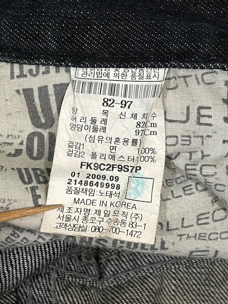code:KAM Vintage Fubu The Collection Big Logo Jeans