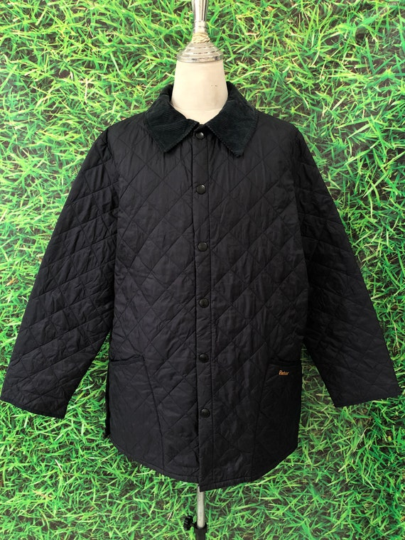 Vintage Barbour Puffer jacket japanese style (code