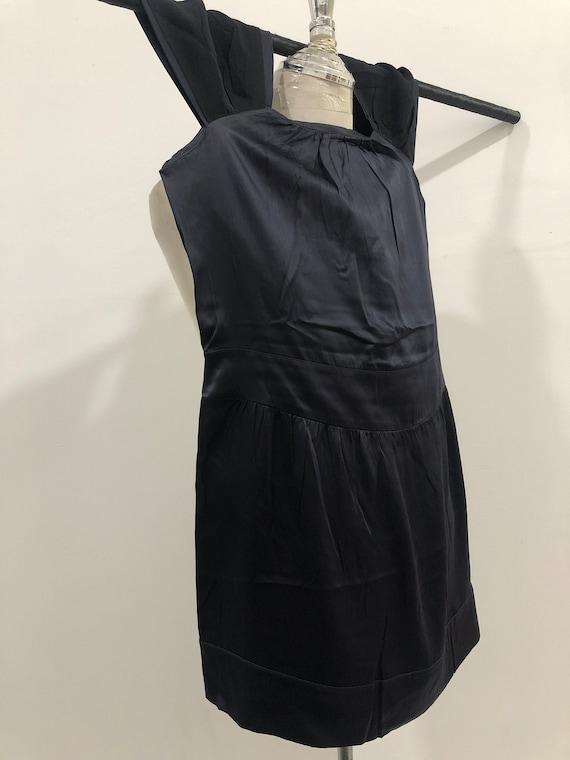 Vintage Miu Miu Evening Dress 100% silk Made in I… - image 7