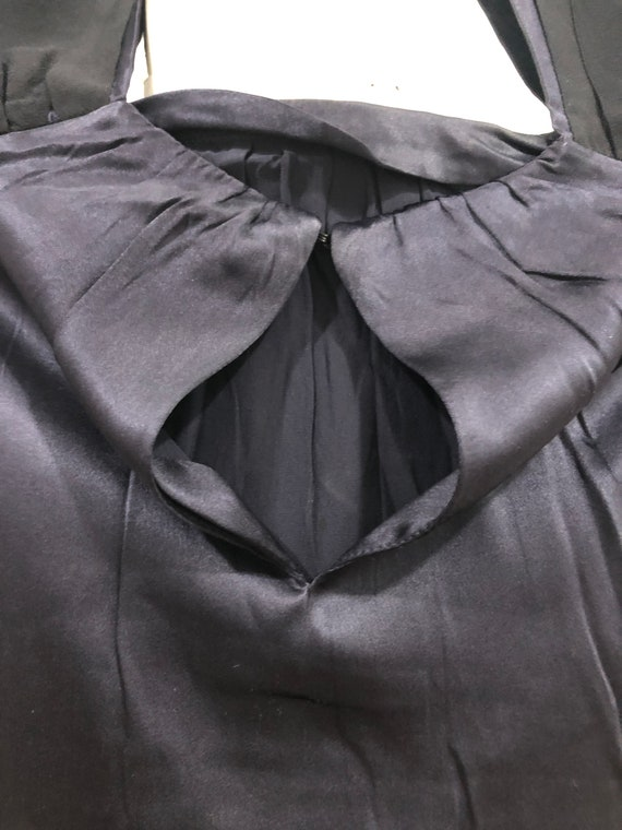 Vintage Miu Miu Evening Dress 100% silk Made in I… - image 10