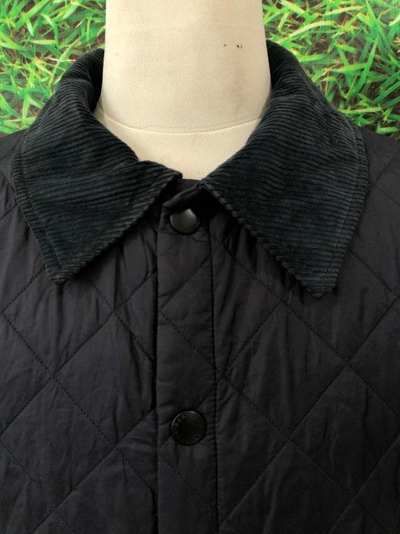 Vintage Barbour Puffer jacket japanese style (cod… - image 2