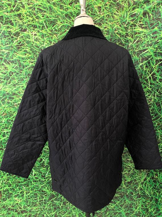 Vintage Barbour Puffer jacket japanese style (cod… - image 6