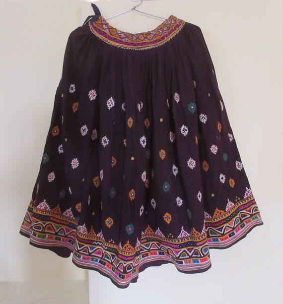 Handmade Indian Belly Dance Skirt Vintage Banjara