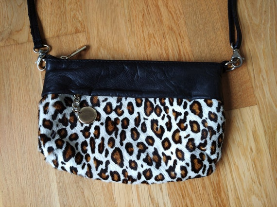 POP IN Crossbody Black Handbag Purse Bag,Genuine L