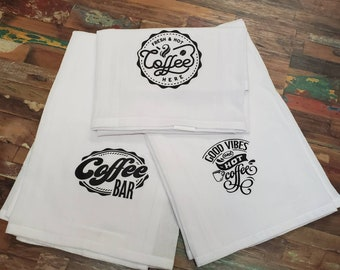 Coffee Tea Towel Set