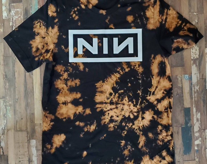 Bleached Vintage 80s Band Tee
