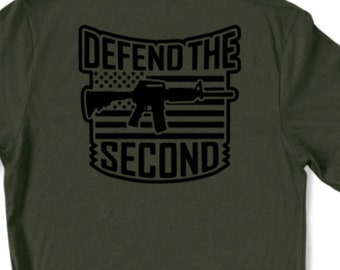 Defend the Second Graphic Tee