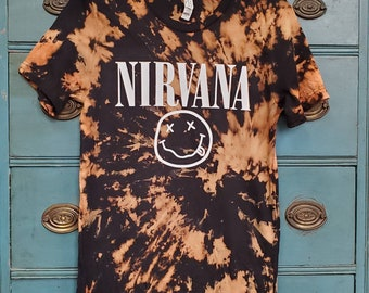 Bleached Vintage 90s Band Tee