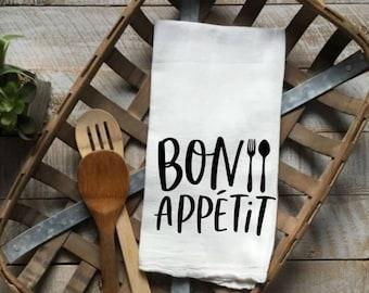 Bon Appetit Tea Towel