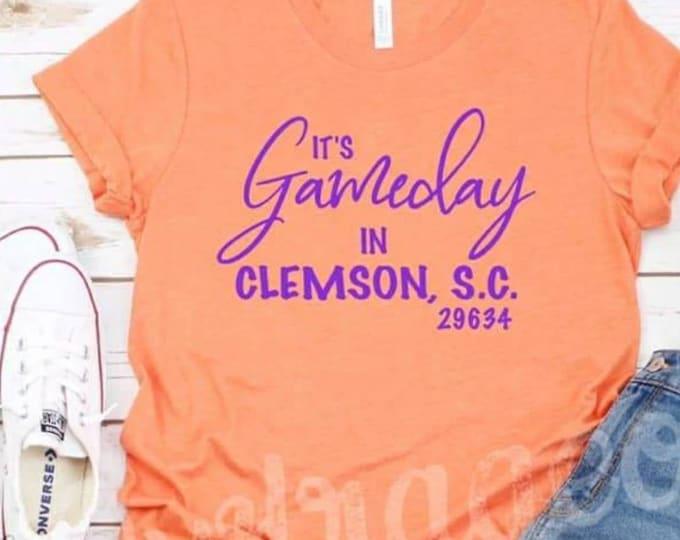 Gameday in Clemson Tee