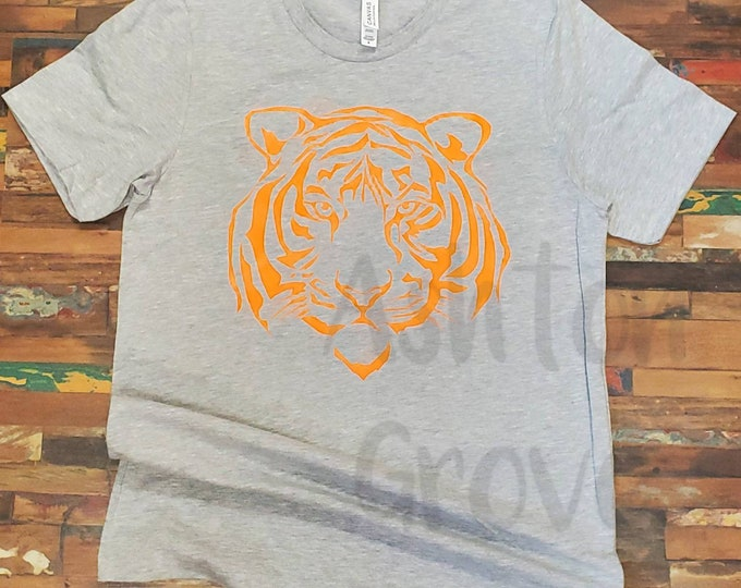 Tiger Head Graphic Tee