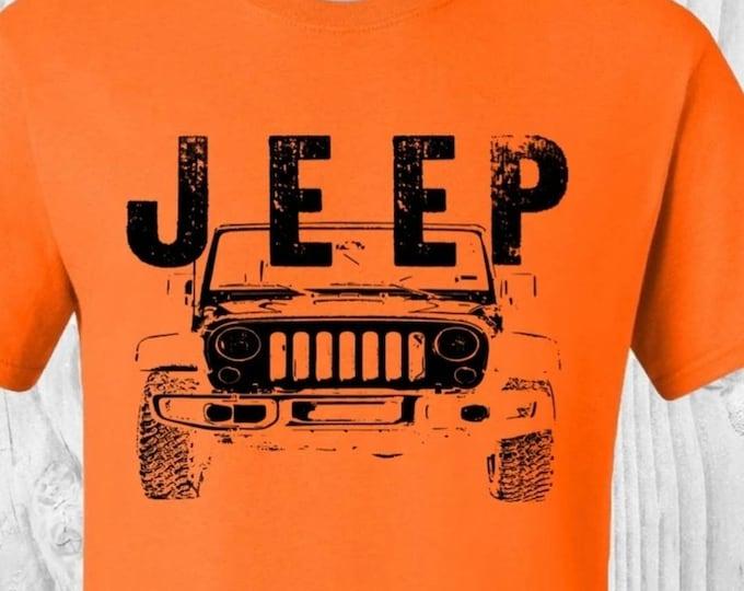 4 Wheel Drive, Off-road Shirt, Adult size