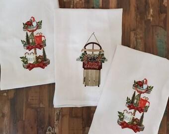 Christmas Kitchen Towel Set