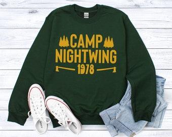 RL Stine Fear Street Camp Nightwing 1978 Sweatshirt