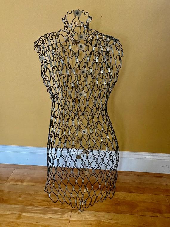 Seamstress Mannequin - Vintage Mesh Mannequin - Vi
