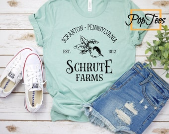 Schrute Farms - Unisex Tee. The Office, The Office Shirts, Michael Scott, Schrute Farms, Schute Farms, Dwight Schrute, The Office Gifts