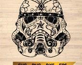 Star Wars Disney Disneyland Galaxy Edge Storm Trooper Star Wars Mickey Mouse Walt Disney World JPEG SVG PNG Dxf Custom T-Shirt File