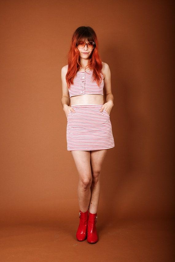 Classic 1960s striped set - image 2