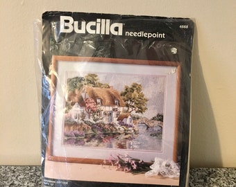 Bucilla Needlepoint Kit Sun Moon and Stars NIP Celestial Moon Kooler Design Studio Rare