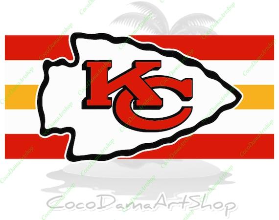 Kansas City Chiefs Svg Kc Flag Svg Kc Logo Svg Png Dxf Pdf Etsy