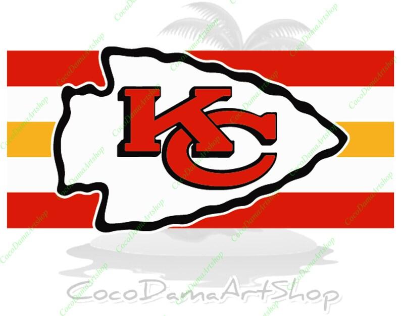 Download Kansas City Chiefs Svg KC Flag Svg KC Logo Svg Png Dxf Pdf ...