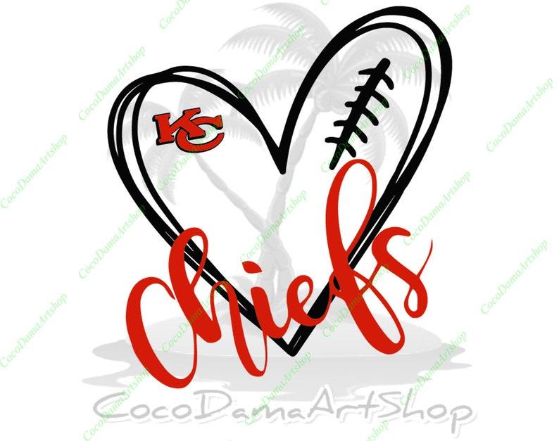Download Love Chiefs Svg Kansas City Chiefs Svg KC Logo Svg Png Dxf ...