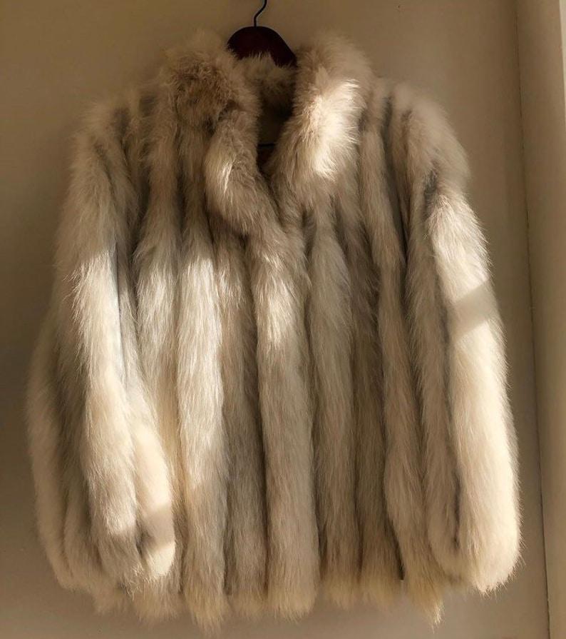 1970\u2019s Arctic Fox Fur Coat