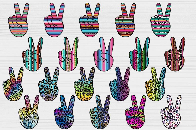 Peace clipart Scrapbook elements Peace love sublimate Digital Clipart Peace Hand sublimation bundle Peace Hand Sign Peace Signs png