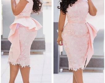 Nigerian Dresses Etsy,Tea Length Dresses For Wedding Guest