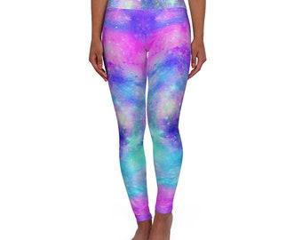 Swan nebula Yoga Leggings