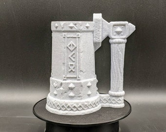 The Dwarf - Mythic Mug Can Holder Gaming Accessory - Tabletop, Dice Cup / Roller - Dungeons and Dragons Pathfinder