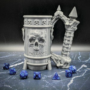 The Fighter Mythic Mug /& Dice Box Combo RPG Table Top Accessory
