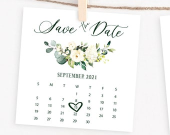 Calendar Card Will You Be My Flower Girl Bridesmaid Proposal Card Bridal shower D006 Bridesmaid Proposal Gift Box Idea Save The Date