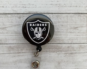 Raiders Mylar Badge Reel