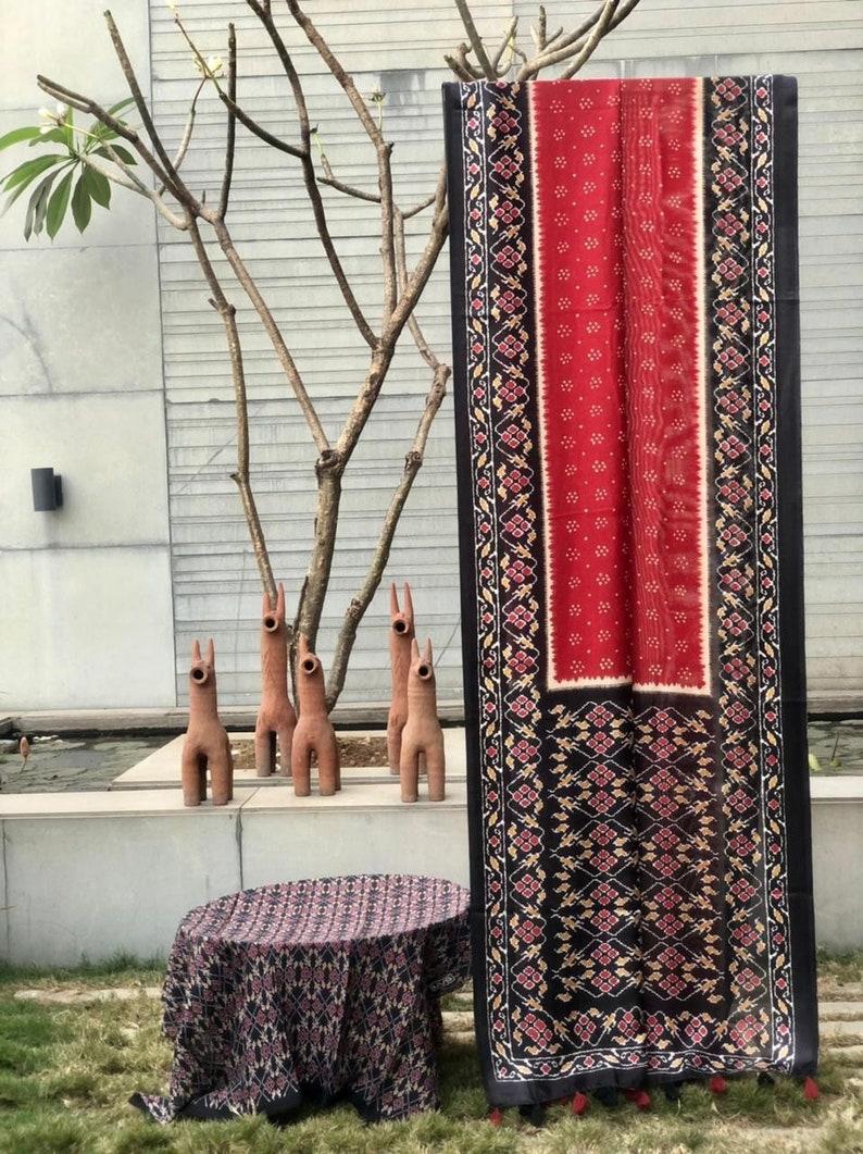 Red Soft cotton with weaving satin border saree and blouse for women,saree dress,indian saree wedding saree,traditional saree saree