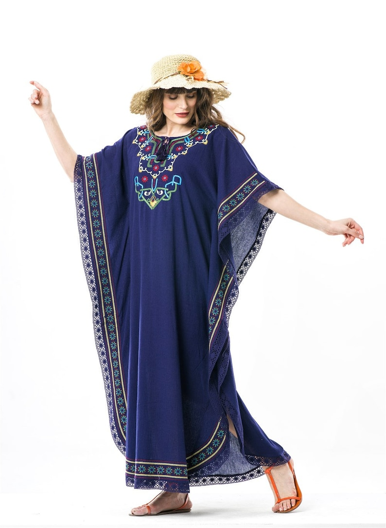 PURPLE EMBRO\u0130DERED DRESS summer and festival dress bohemian styled hippie styled