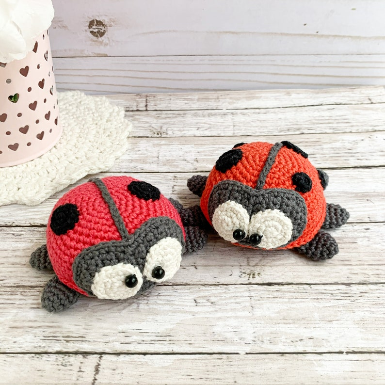 Amigurumi pattern crochet ladybug crochet pattern pdf image 0