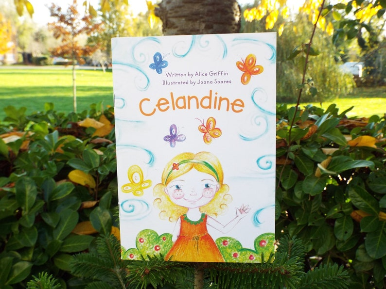 Celandine  A Story & Colouring Book for Animal-Loving image 0