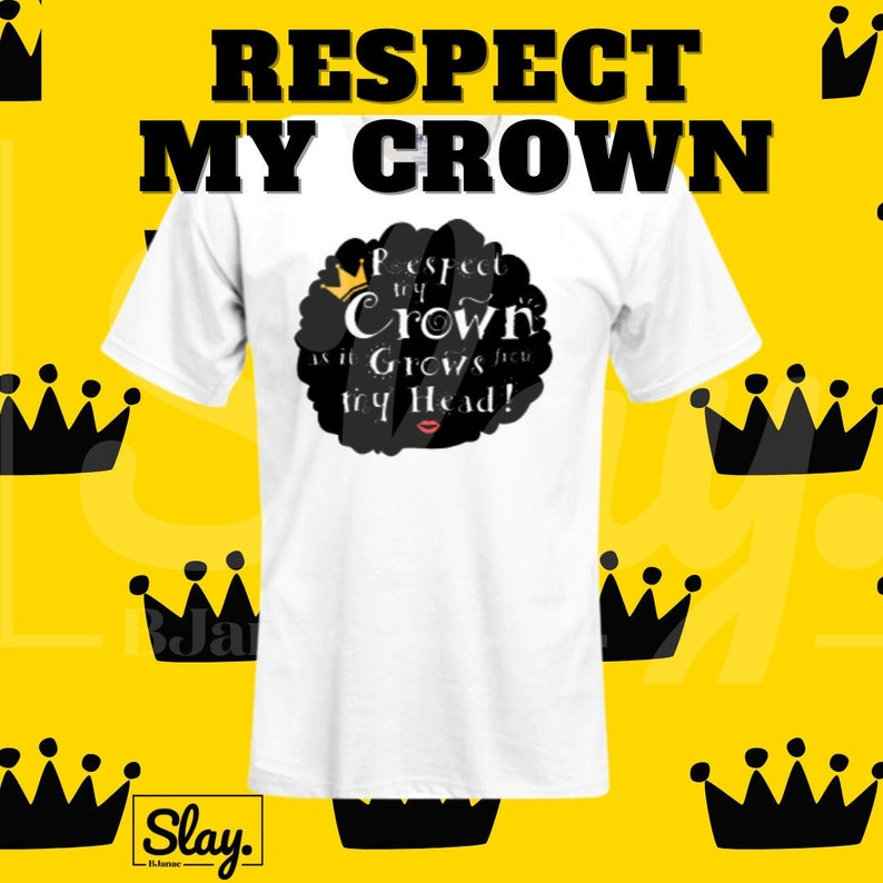 Respect My Crown Tee image 0