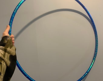 34 inch or 58 OD tubing sizes 3D Matrix Taped Performance Hula Hoop  Dance Hoop  Collapsible for Travel  HDPE or Polypro  1116 inch