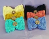 Crocheted Bow ties