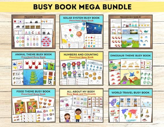 Busy Book Mega Bundle Busy Book Printable Printable Busy